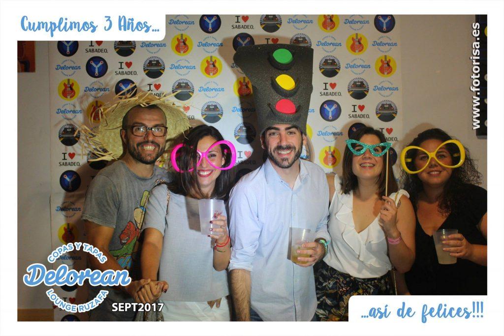 Fiesta 3 Aniversario de Delorean