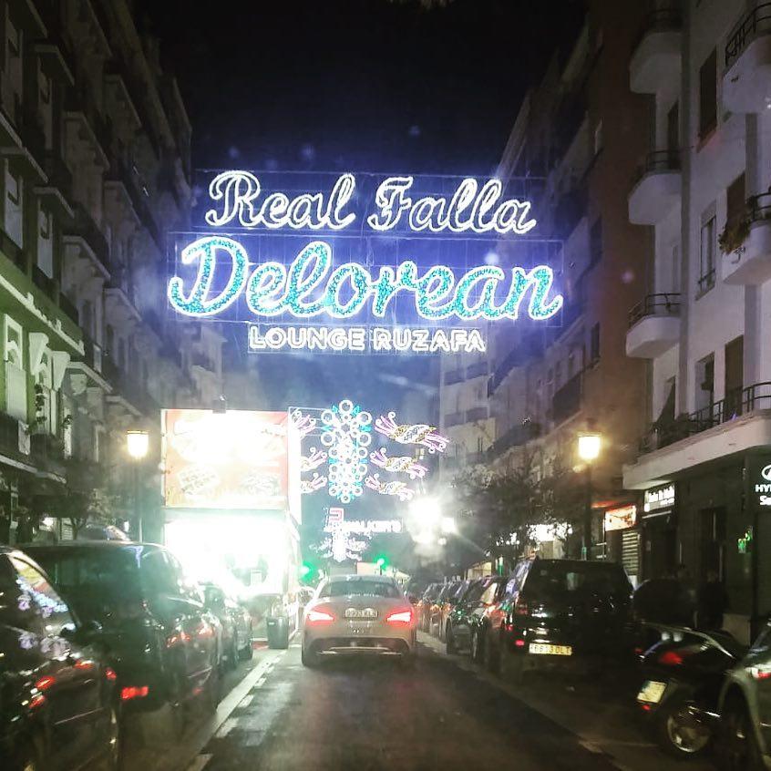 Iluminación Delorean